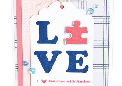 Autism Awareness Stamp Set