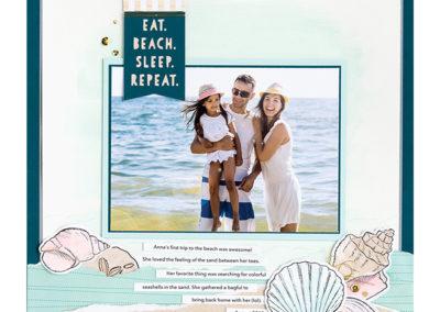 Beach Treasures Stamp Set