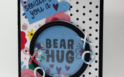 Bear Hug Shaker Card