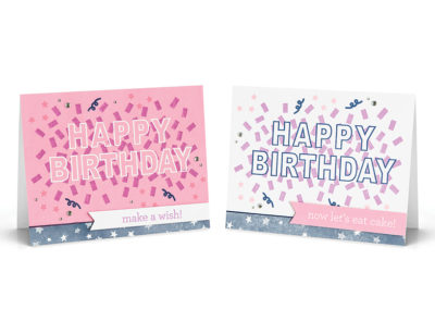 Birthday Confetti Stamp Set