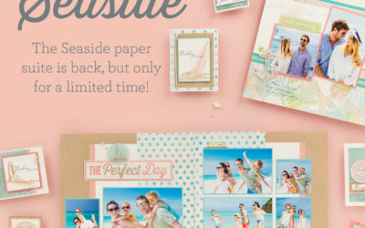 New Seaside Scrapbook Workshop Kit for Beach Lovers!