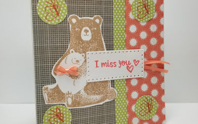 I Miss You Card ~ July Stamp of the Month
