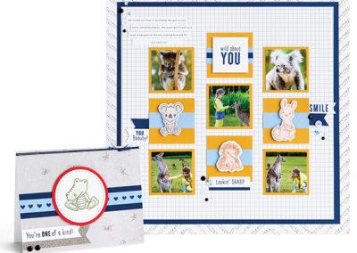 Little Aussies Stamp Set