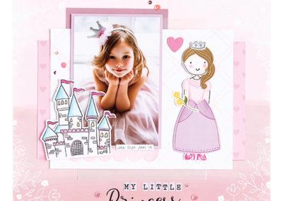 Paper Pal Princess & Princess Castle Stamp Sets