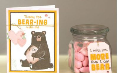 Bear Hugs! July Stamp of the Month