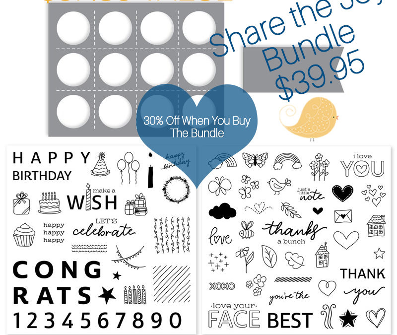 Share The Joy! Buy The Bundle and SAVE 30%