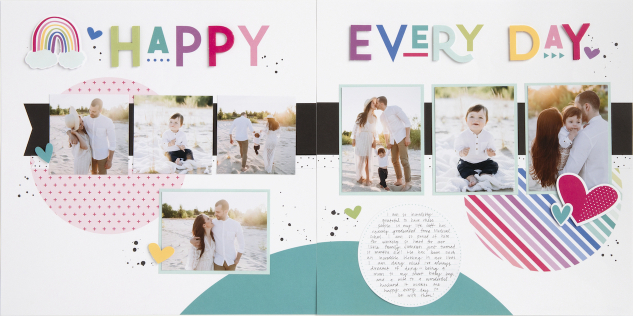Fast & Easy Scrapbook Kits! No Cutting & No Stamping!