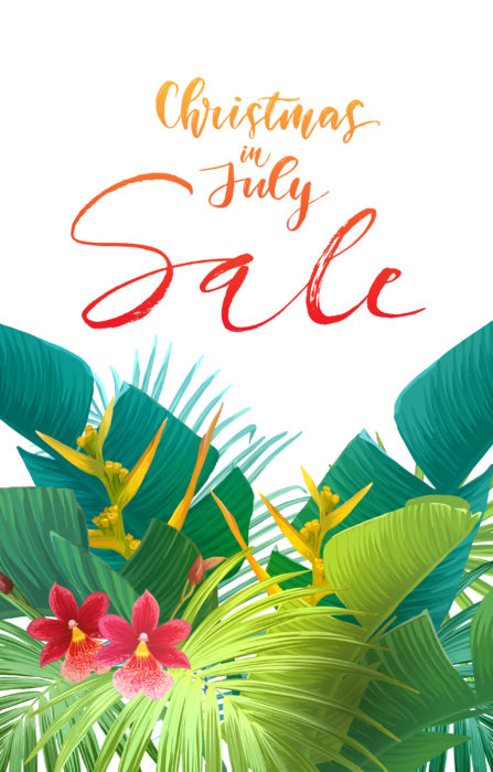Christmas in July Sale