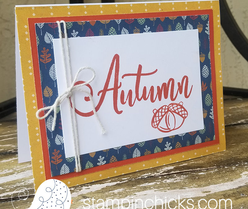 Fall Greeting Cards ~ NEW Hawthorn Collection ~ Close To My Heart